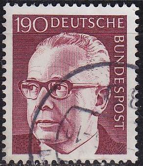 GERMANY BUND [1972] MiNr 0732 ( O/used )
