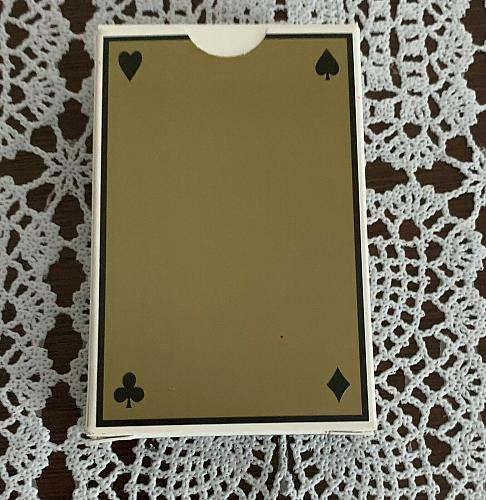 Brand New Sealed Deck Advertising Playing Cards Power of EPT Emerson 4 Charity