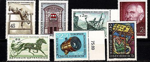 ÖSTERREICH AUSTRIA [1973] Jahr ex ( **/mnh ) [02]