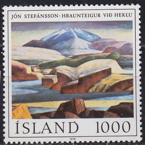 ISLAND ICELAND [1978] MiNr 0535 ( **/mnh ) Kunst