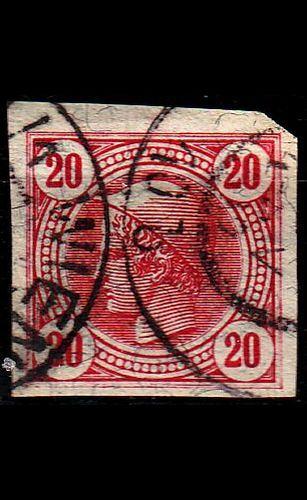 ÖSTERREICH AUSTRIA [1901] MiNr 0100 a ( O/used ) [01]