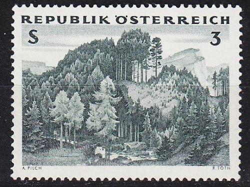 ÖSTERREICH AUSTRIA [1962] MiNr 1125 ( **/mnh ) Pflanzen