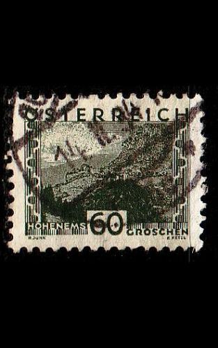 ÖSTERREICH AUSTRIA [1932] MiNr 0542 ( O/used ) Landschaft