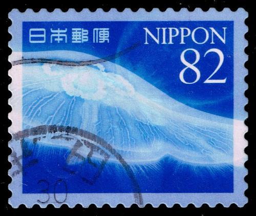 Japan #4215e Jellyfish; Used (3Stars) |JPN4215e-01XDT