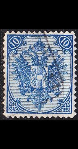 ÖSTERREICH AUSTRIA [BosHerz] MiNr 0005 I C ( O/used )