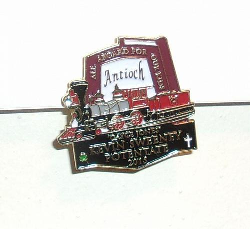 Brand New Antioch Shrine Dayton Ohio Lapel Pin Kevin Sweeney Potentate 2015