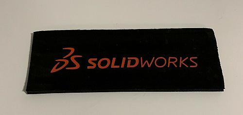 DS Solidworks Advertising Can Koozie Black For Cocker Spaniel Rescue Charity