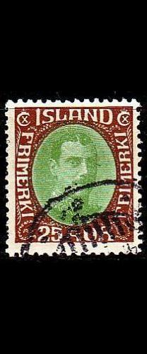 ISLAND ICELAND [1920] MiNr 0092 ( O/used )