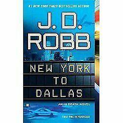 New York To Dallas Book By J D Robb For Cocker Spaniel Rescue Charity