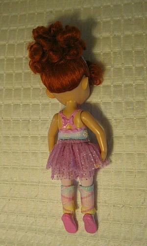 """Fancy Nancy Doll 10"""" Jakks Pacific 2008 Pink Ballerina Dress"""