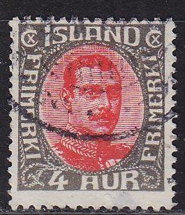 ISLAND ICELAND [1931] MiNr 0158 ( O/used )