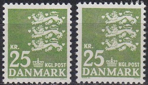 DÄNEMARK DANMARK [1962] MiNr 0399 x,y ( **/mnh )