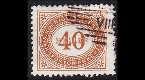 ÖSTERREICH AUSTRIA [Porto] MiNr 0032 A ( O/used )