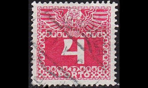 ÖSTERREICH AUSTRIA [Porto] MiNr 0036 y ( O/used )