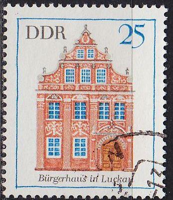 GERMANY DDR [1969] MiNr 1437 ( OO/used ) Bauwerke