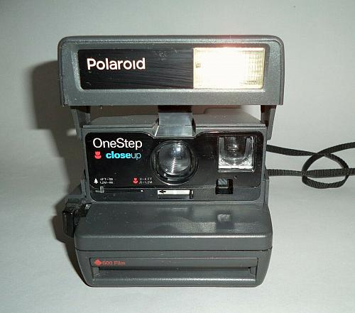 Polaroid 636 Close Up Instant 600 Film Camera. TESTED, WORKING