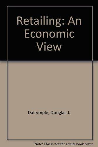 Retailing An Economic View by D J Dalrymple Book For Cocker Spaniel Rescue