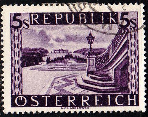 ÖSTERREICH AUSTRIA [1947] MiNr 0853 ( O/used ) Landschaft