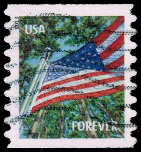 US #4769 Flag in Summer; Used (4Stars) |USA4769-01