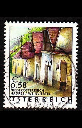 ÖSTERREICH AUSTRIA [2002] MiNr 2364 ( O/used ) Landschaft