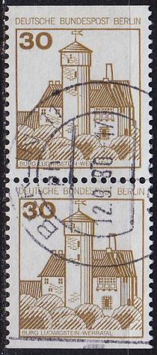 GERMANY BERLIN [1977] MiNr 0534 CD ( O/used ) Bauwerke