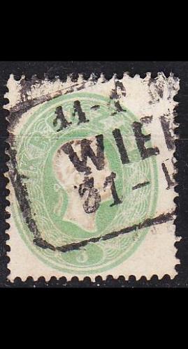 ÖSTERREICH AUSTRIA [1860] MiNr 0019 ( O/used ) [02]