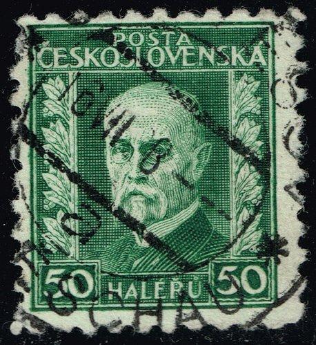 Czechoslovakia #128 President Masaryk; Used (2Stars) |CZE0128-06XRS