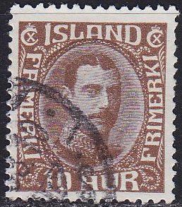 ISLAND ICELAND [1931] MiNr 0161 ( O/used )