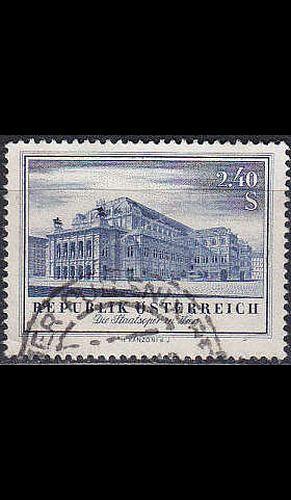 ÖSTERREICH AUSTRIA [1955] MiNr 1021 ( O/used ) Architektur