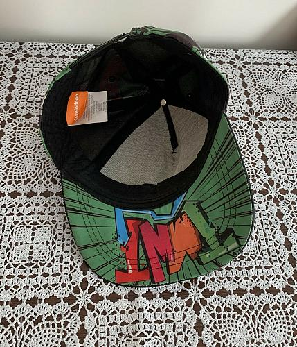 Brand NewTeenage Mutant Ninja Turtles Nickelodeon Hat Cap Snapback Green Large