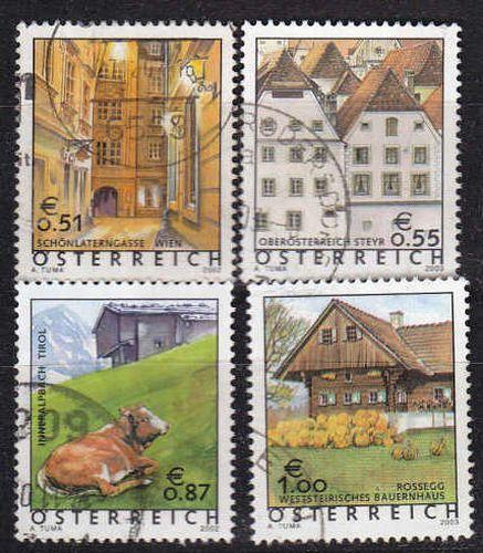 ÖSTERREICH AUSTRIA [Lot] 01 ( O/used ) Ferienland gut, sauber