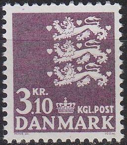DÄNEMARK DANMARK [1970] MiNr 0499 ( **/mnh )
