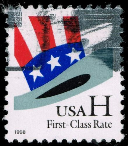 US #3260 Uncle Sam's Hat; Used (2Stars) |USA3260-02