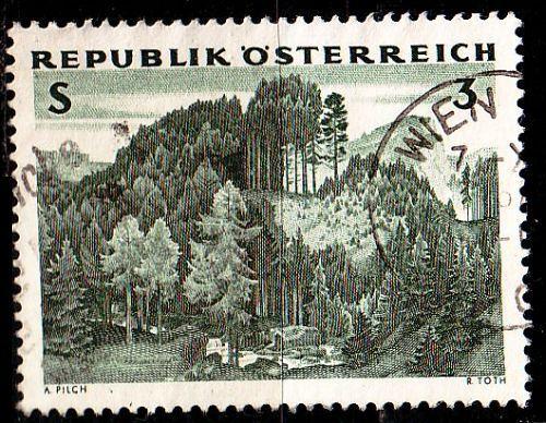 ÖSTERREICH AUSTRIA [1962] MiNr 1125 ( O/used ) Pflanzen