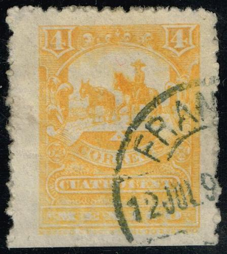 Mexico #246 Mail Carrier and Pack Mule; Used (1Stars) |MEX0246-01XRS