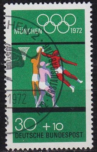 GERMANY BUND [1972] MiNr 0735 ( O/used ) Olympiade
