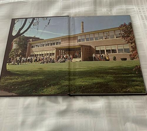 1966 Panthian Yearbook Stryker Ohio High School No Writing In Book 4 Dog Charity