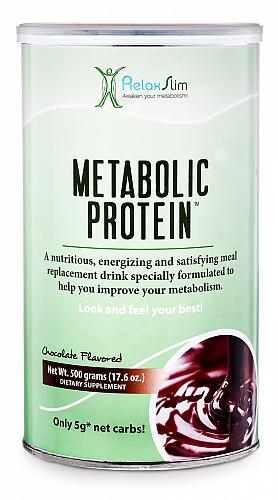 """NaturalSlim Meal Replacement Whey Protein Shakes, Natural Aid for a """"Slow with"""