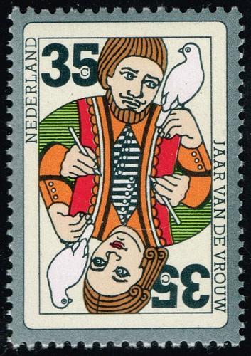 Netherlands #532 Playing Card; MNH (5Stars) |NED0532-04XKN