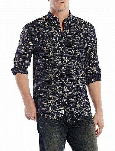 Lucky Brand Jeans Left Coast Shirt XL NWT`s