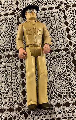 Vintage 1978 Tonka Man Plastic Poseable Figurine For Dog Rescue Charity