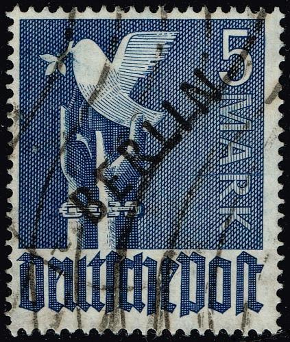 Germany #9N20 Peace Dove; Used with APS Cert (3Stars)  DEU9N020-01XDP