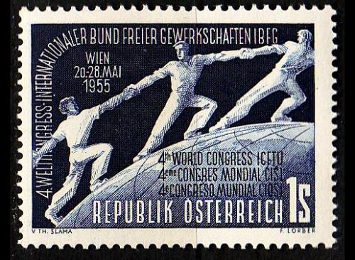 ÖSTERREICH AUSTRIA [1955] MiNr 1018 ( **/mnh )