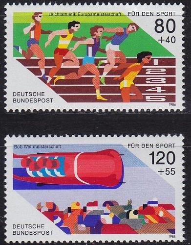 GERMANY BUND [1986] MiNr 1269-70 ( **/mnh ) Sport