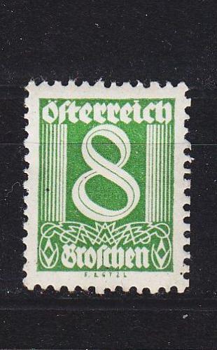ÖSTERREICH AUSTRIA [1925] MiNr 0454 ( */mh )