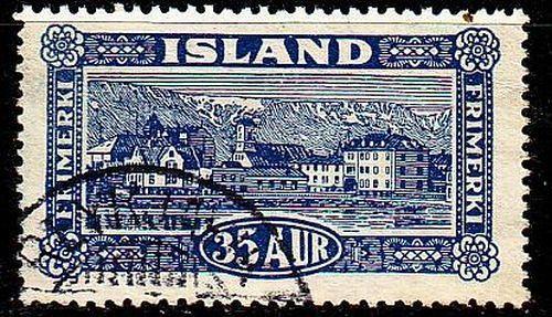 ISLAND ICELAND [1925] MiNr 0117 ( O/used )