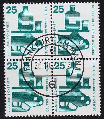 GERMANY BERLIN [1971] MiNr 0405 ( O/used ) [01]