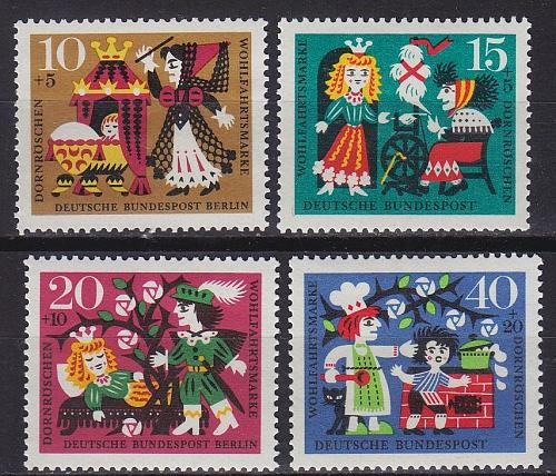 GERMANY BUND [1964] MiNr 0447-50 ( **/mnh )