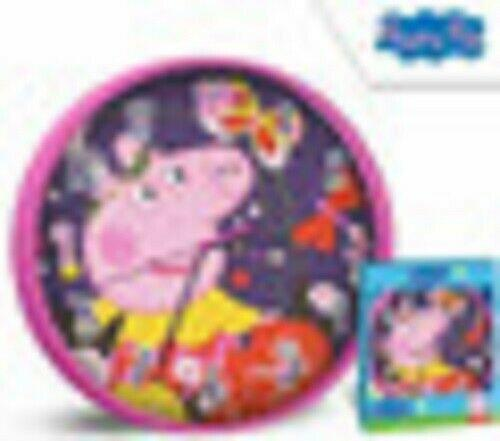 Peppa Pig New Character Premium Licensed Wall Clock 25cm (Battery Not Included)