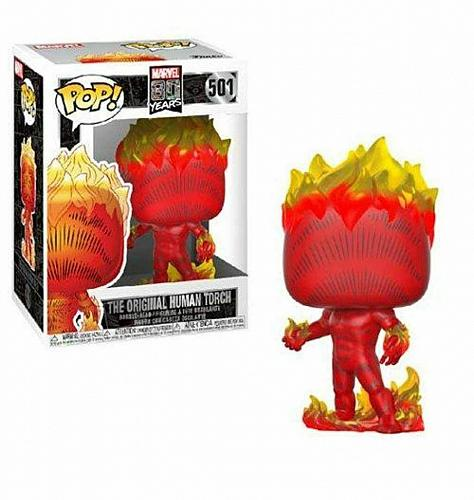 Marvel 80th First Appearance Human Torch Pop! Vinyl Figure